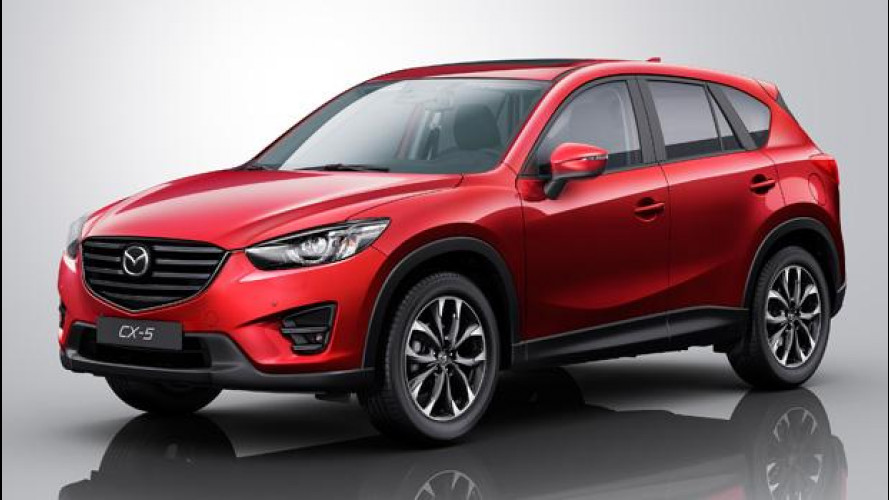 Mazda CX-5, lieve facelift per il 2015