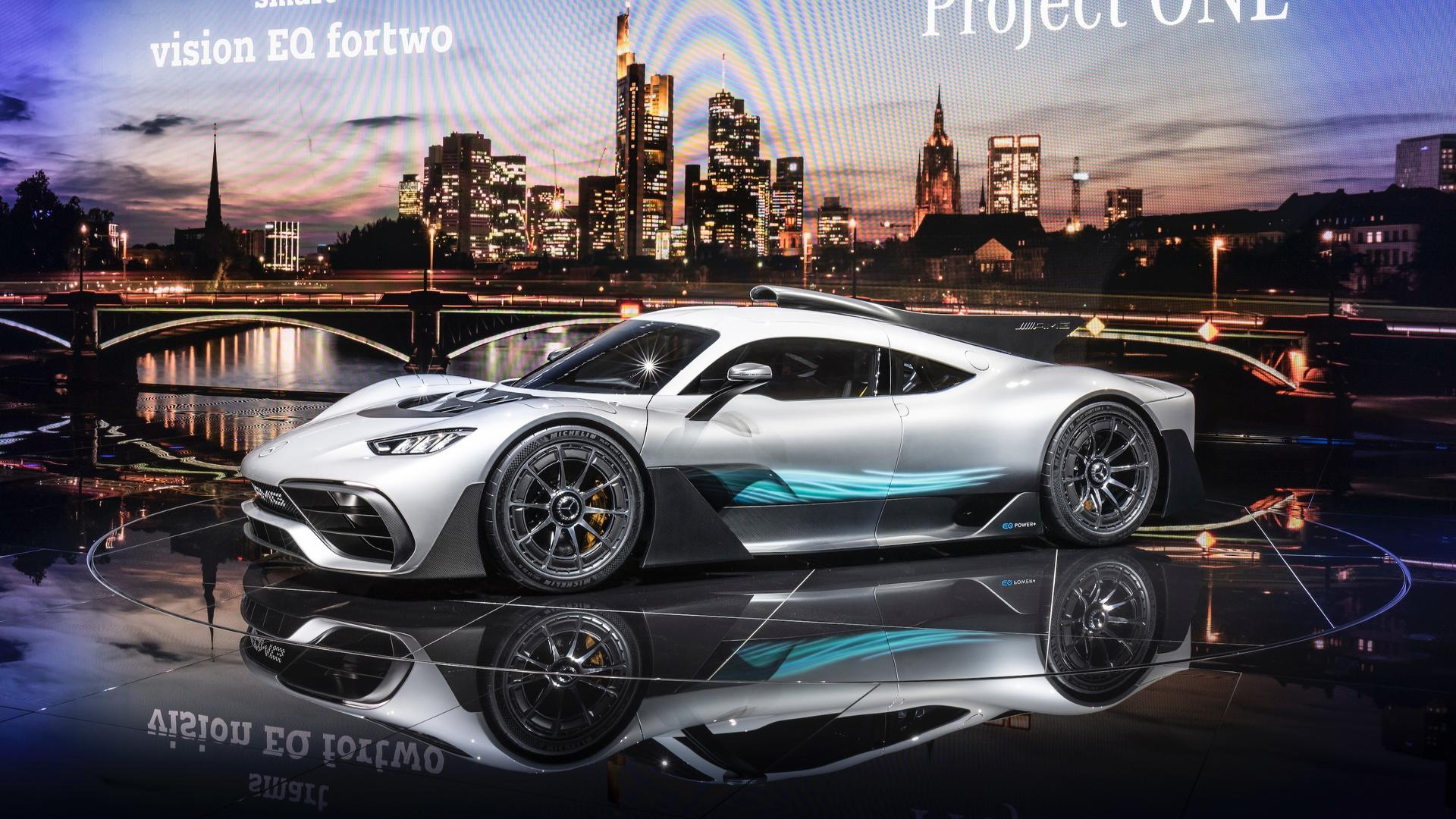 Cars For Sale Under 1000 >> Mercedes-AMG Project One Bursts Into Frankfurt With 1,000 HP