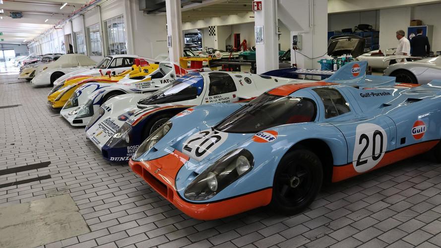 Descubre el 'almacén' secreto del Museo Porsche en 93 fotos
