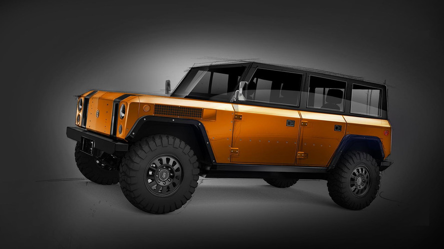 Bollinger B1: nueva carrocería de cuatro puertas