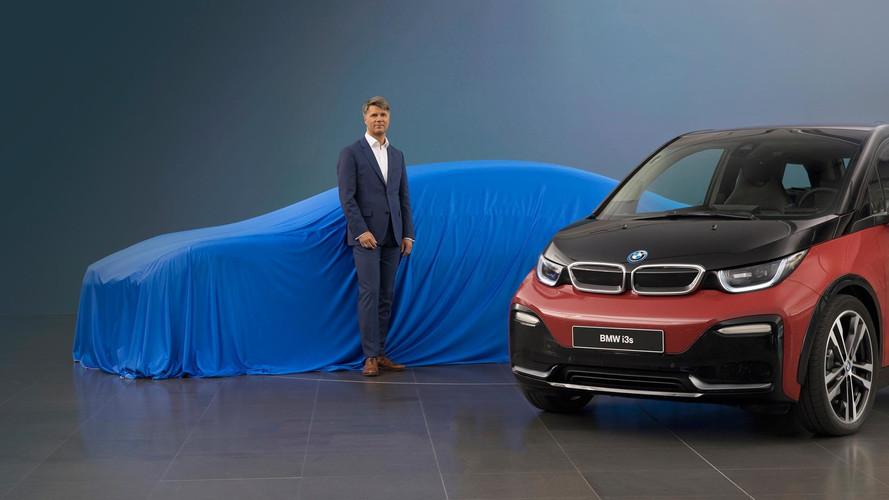 BMW à Francfort avec une quatre portes électrique !