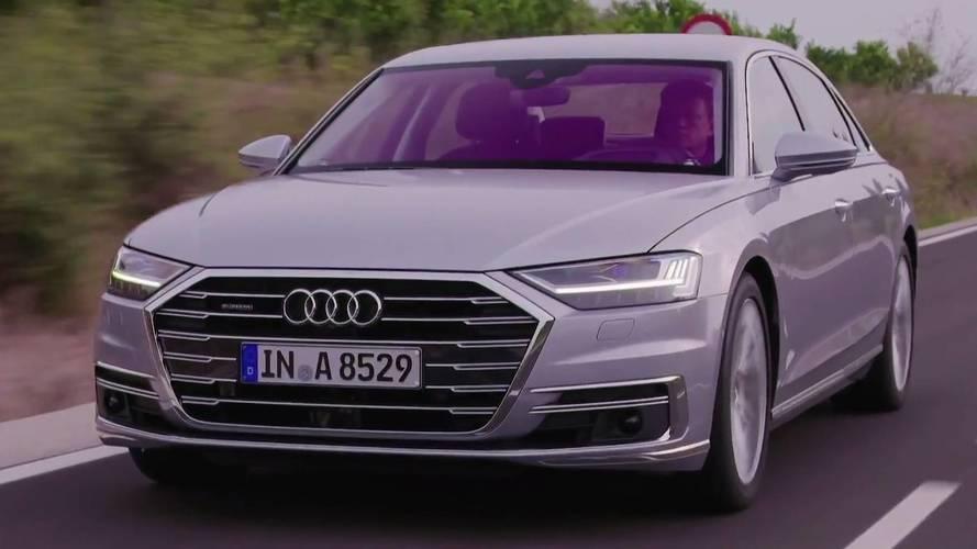 Audi'nin yeni videoları ile A8'i yeniden keşfedin