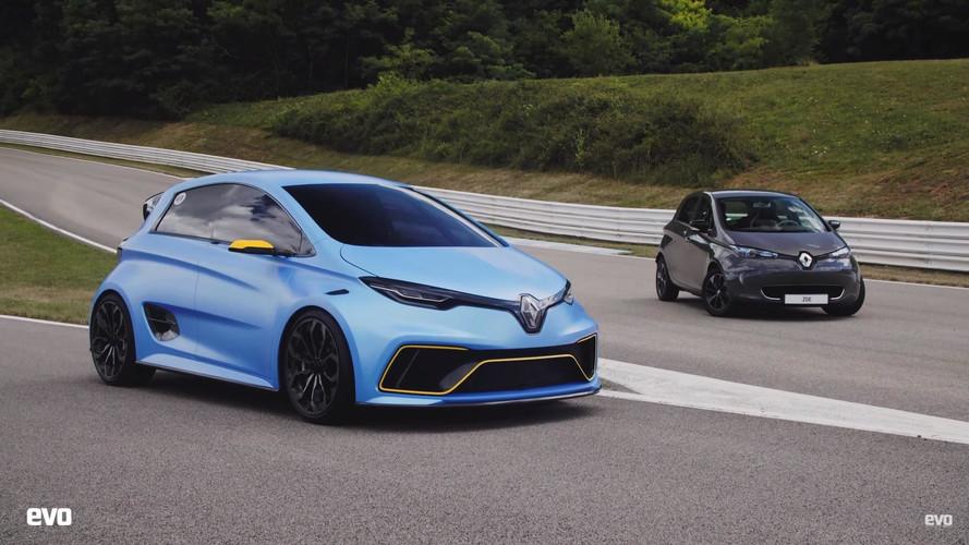 Alaposan meghajtották a Renault Zoe E-Sport tanulmányt