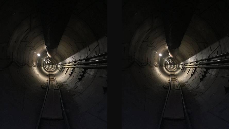 Megérkezett az első kép Elon Musk földalatti alagútjáról