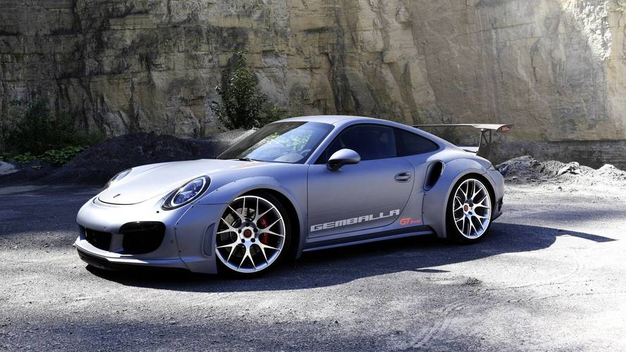 Gemballa GT Concept Powers Into SEMA With 828 HP