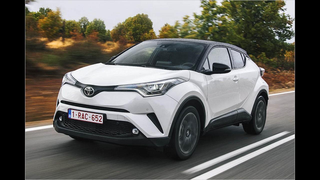 Toyota C-HR: 21.990 Euro