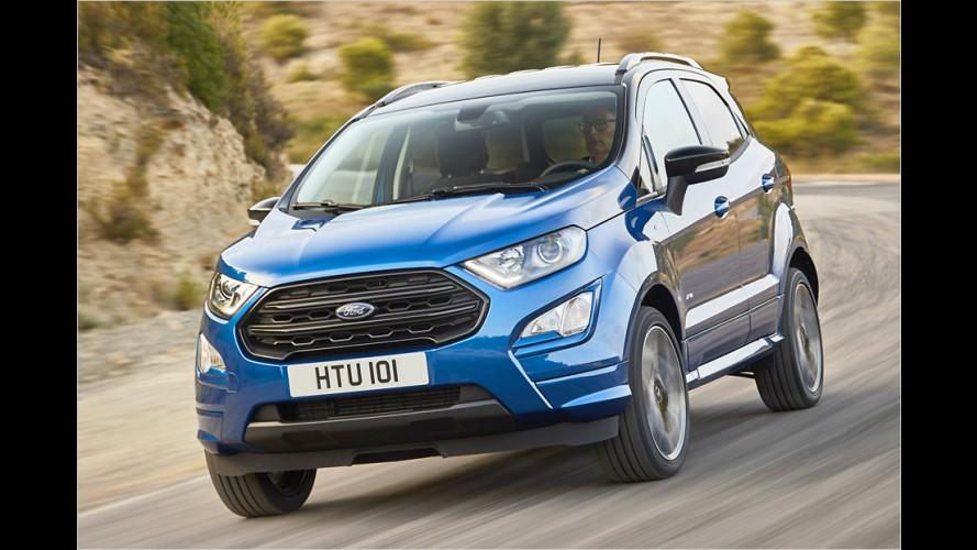 Ford EcoSport: Total umgekrempelt