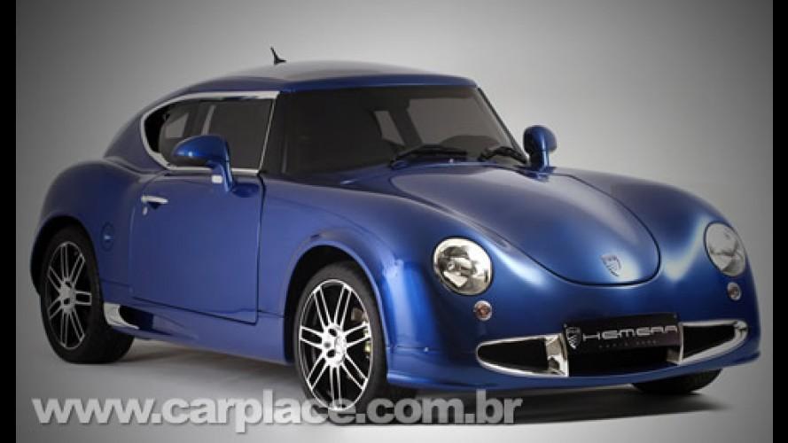 Visual inspirado no Porsche ou Fusca? Conheça o retrô PGO Hemera 2009