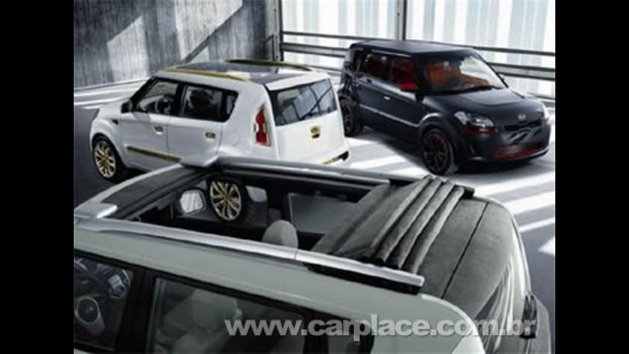 """Kia revela a primeira imagem da versão de produção do SUV compacto """"SOUL"""""""