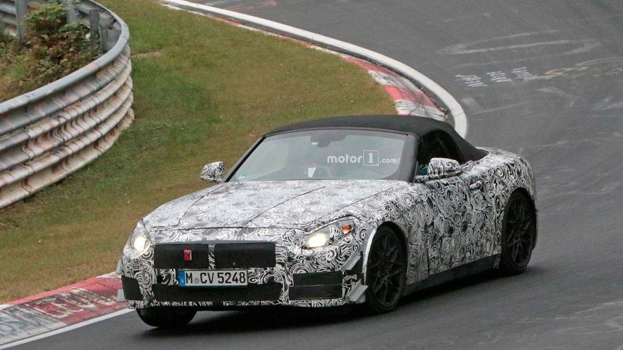 La future BMW Z5 s'affûte sur le Nürburgring