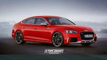 2018 Audi RS5 Sportback tasarım yorumu
