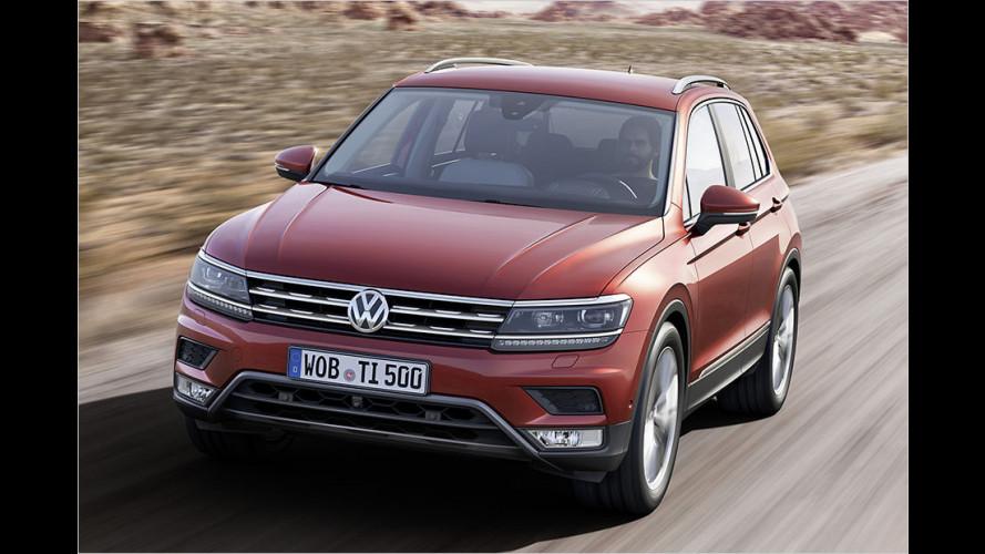 VW Tiguan: Das kostet er