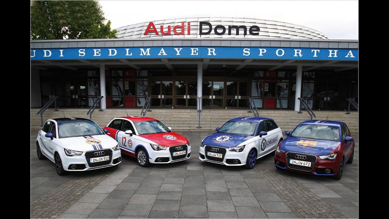 Internationale Top-Teams: Audi