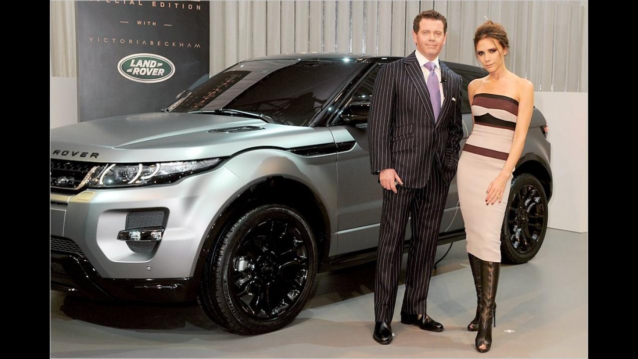 Victoria Beckham: Range Rover Evoque