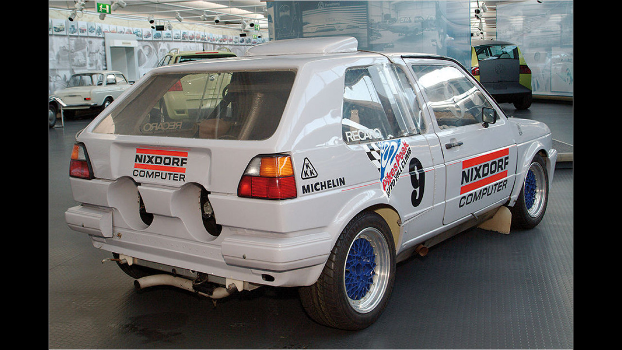 VW Golf II Pikes Peak