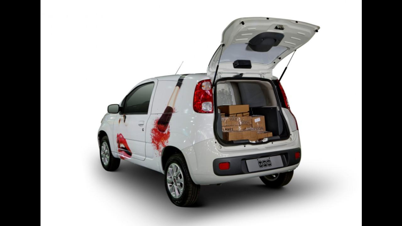 Fiat apresenta Novo Uno em inédita carroceria Furgão na Fenatran