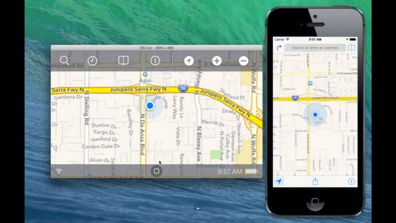 Vazou: veja prévia do sistema iOS da Apple integrado ao carro