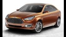 Novo Ford Escort: inicialmente feito para a China, sedã também chegará à Europa