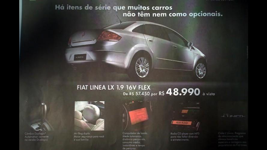 Fiat oferece desconto de R$ 8.460 para o Linea LX 1.9 16V