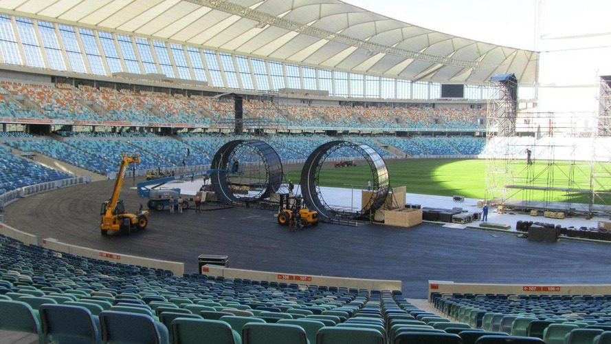 Top Gear Live planning world record double loop-the-loop stunt in South Africa