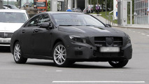 2014 Mercedes CLA-class prototype spy photo