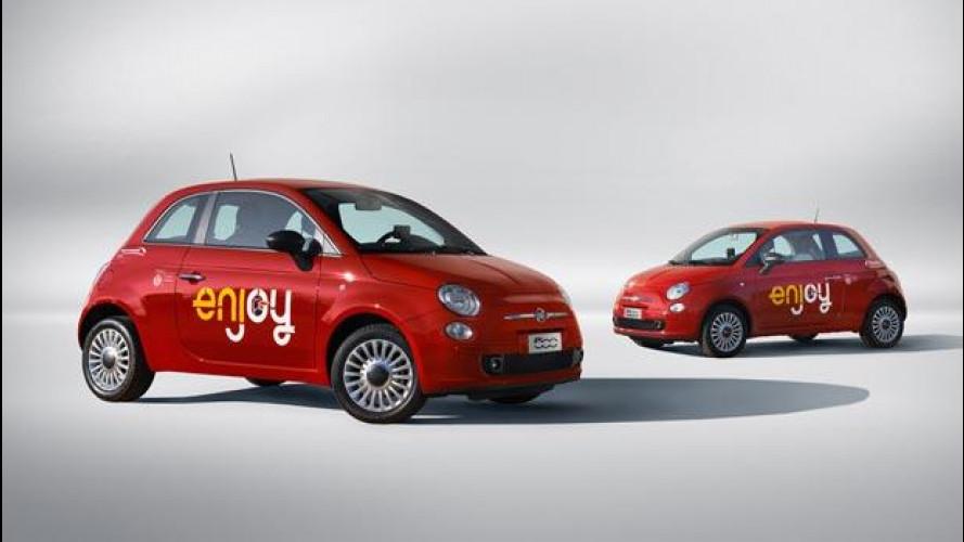 Enjoy car sharing: 35.000 noleggi a Milano in un mese