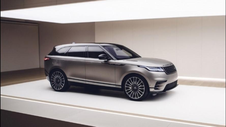 Range Rover Velar, l'anteprima nazionale alla Milano design Week
