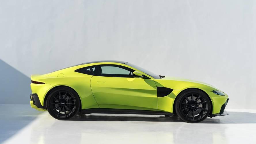"""Aston Martin, """"Vantage'in egzoz çıkışı AMG kadar çılgın değil"""" dedi"""