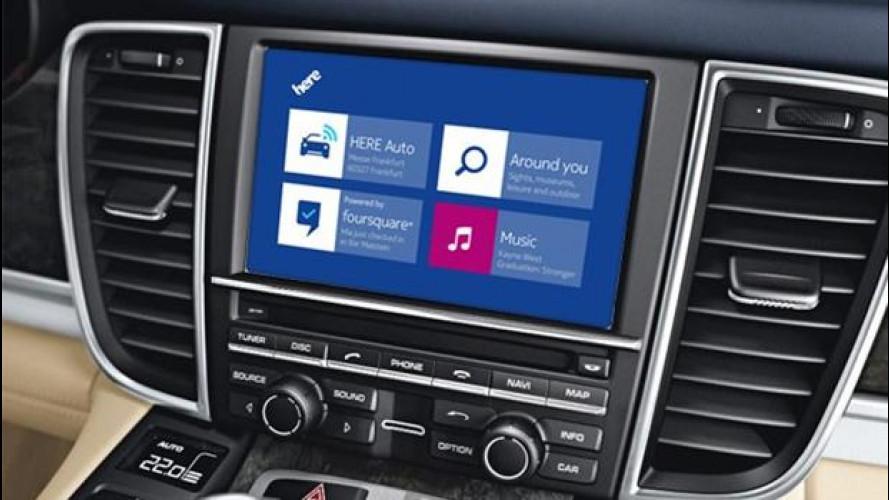 Audi, BMW e Mercedes verso la guida autonoma con le mappe di Nokia