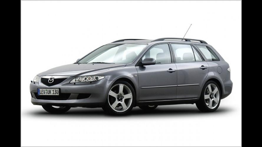 Sportlich sparen: Sondermodell Mazda 6 Dynamic