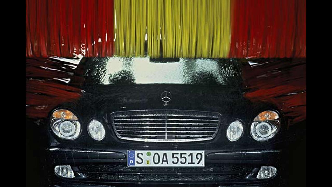Nano-Lack bei Mercedes
