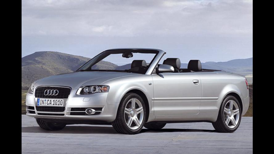 Offen-Audi aufgefrischt: Jetzt ist auch das A4 Cabrio Single