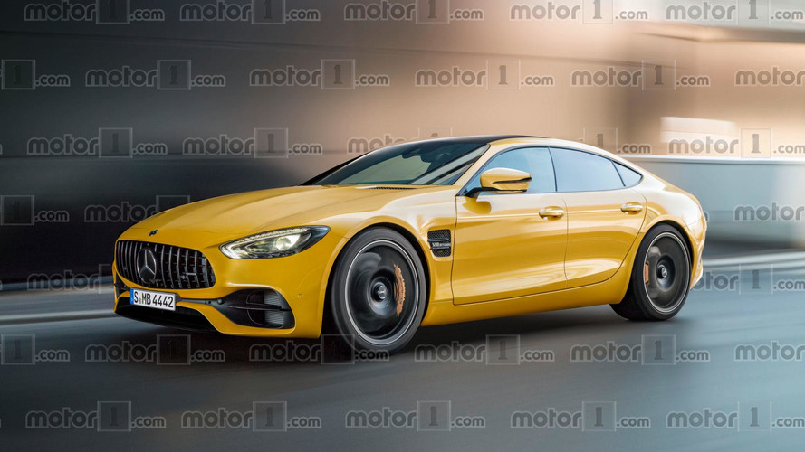Mercedes-AMG GT Sedan Render Might Give The Panamera Nightmares