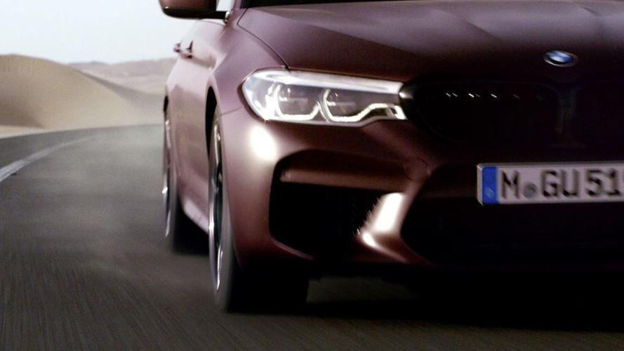 El BMW M5 2017 llegará el 21 de agosto y este teaser te lo recuerda
