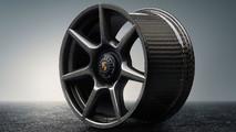 Porsche: llantas fibra de carbono