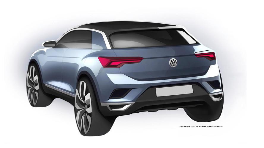 VW T-Roc Teases Its