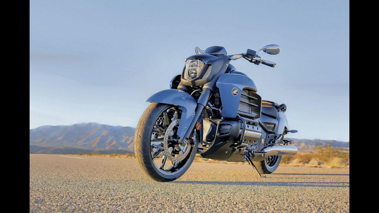 Segredo: Honda registra patente da Gold Wing Valkyrie no Brasil