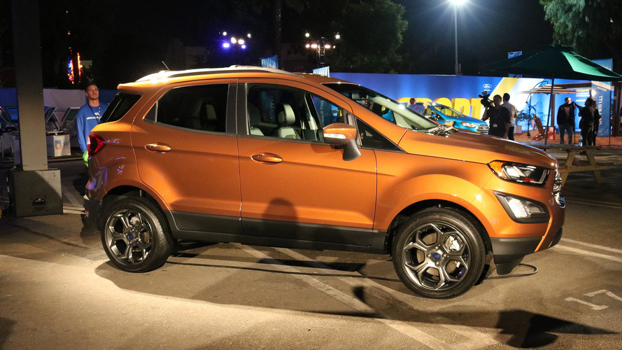 Most Expensive 2018 Ford Ecosport Costs $30,555