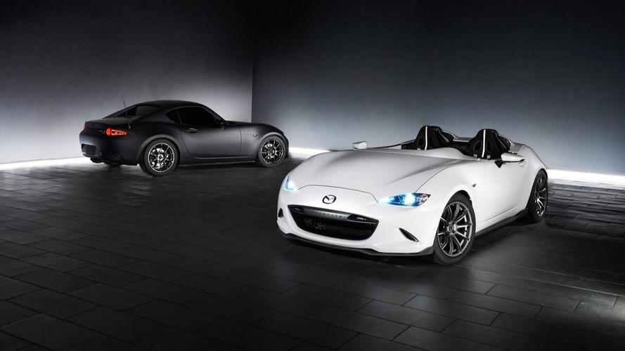 SEMA Show 2016 - Mazda présente les MX-5 RF Kuro et Speedster