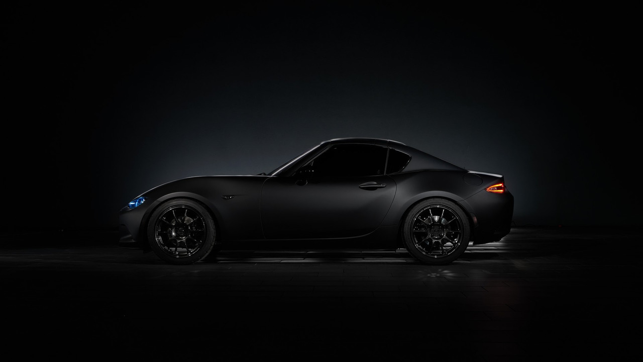 mazda s featherlight mx 5 speedster and rf kuro presented for sema. Black Bedroom Furniture Sets. Home Design Ideas