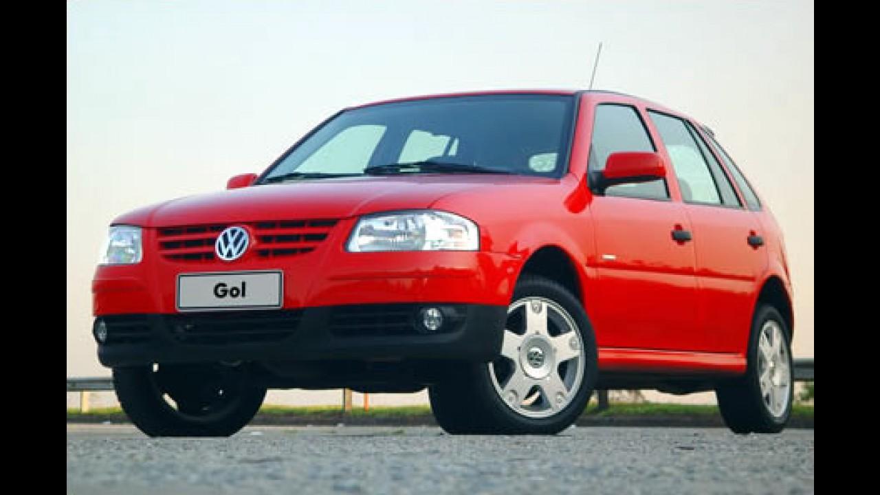 Veja a lista dos carros mais vendidos no 1º semestre 2007 - Gol lidera