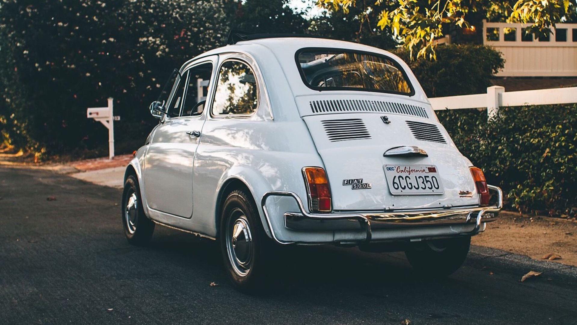 Restored 1971 Fiat 500 eBay find brings la pione