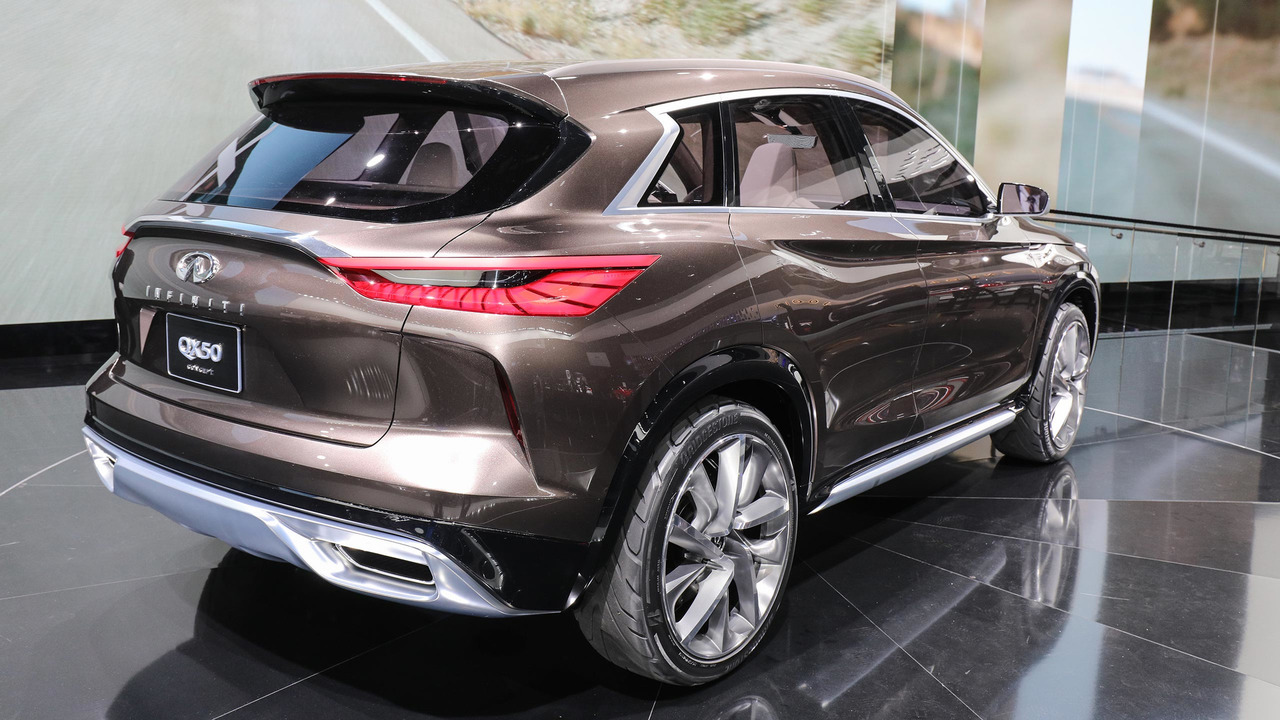infiniti qx50 concept detroit 2017 photo gallery. Black Bedroom Furniture Sets. Home Design Ideas