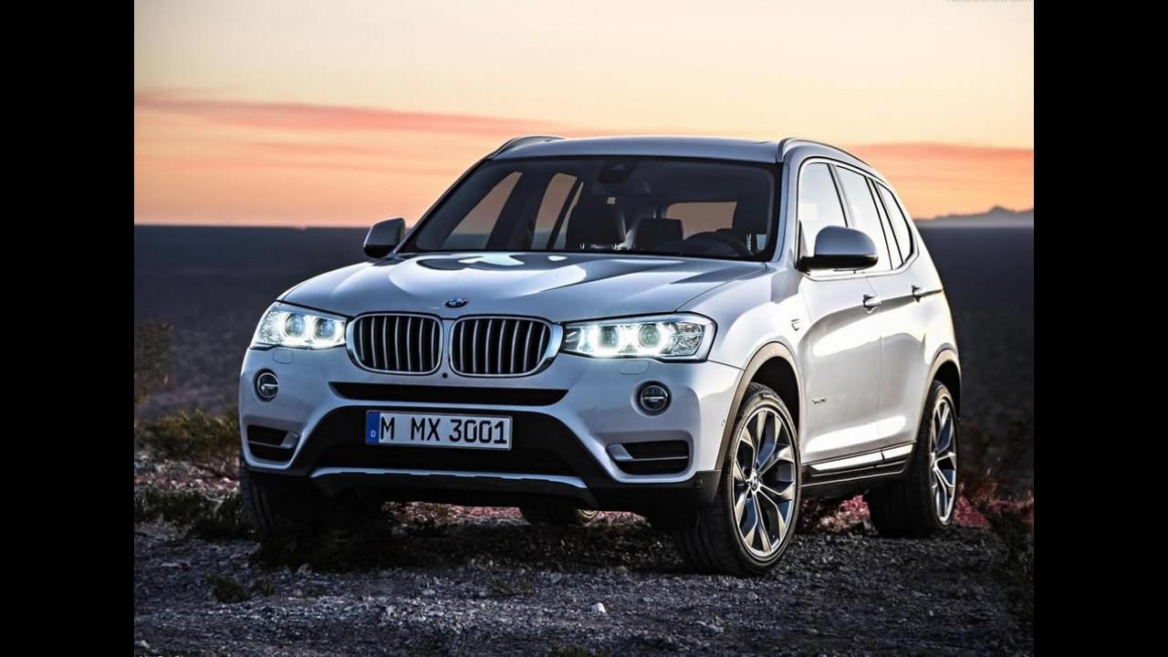 BMW Série 3, X1 e X3 chegam à linha 2017 mais equipados - veja preços