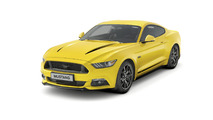 Ford Mustang Black Shadow and Blue Special Editions