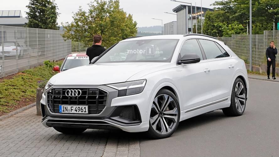 Benzin- és dízelmotorral is elérhető lehet az Audi SQ8
