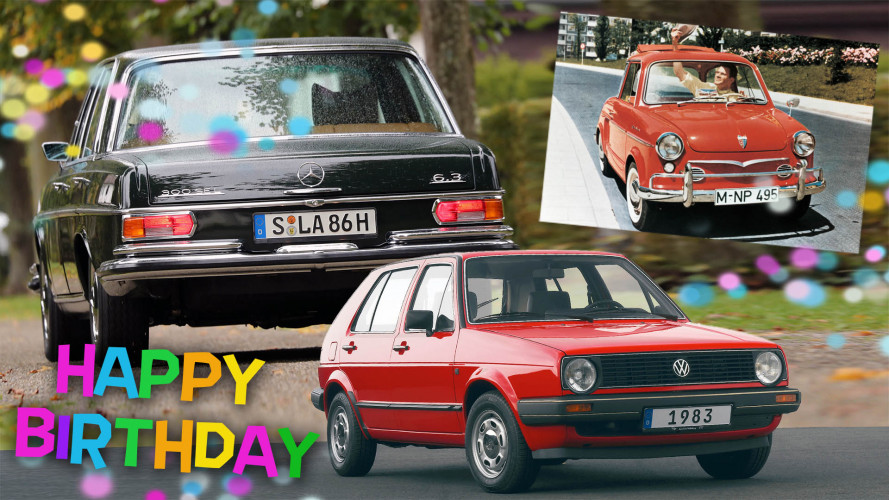 Die Auto-Geburtstage 2018