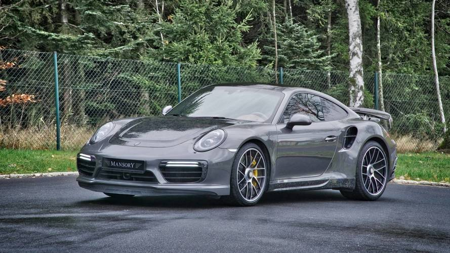 Porsche 911 Turbo S By Mansory Is Surprisingly Restrained