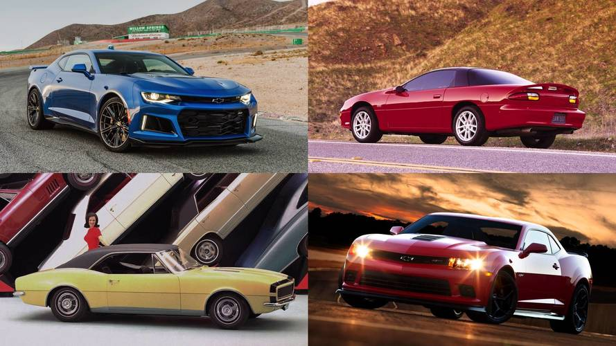 15 Best Chevy Camaros of All Time