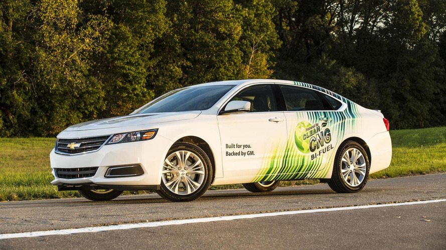 CNG-running 2015 Chevrolet Impala Bi-Fuel priced at 38,210 USD